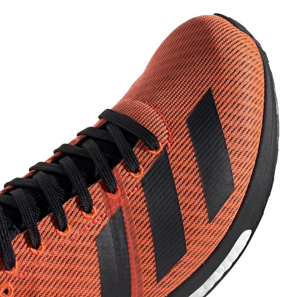 adidas adizero boston 8 m czarno-pomarańczowe