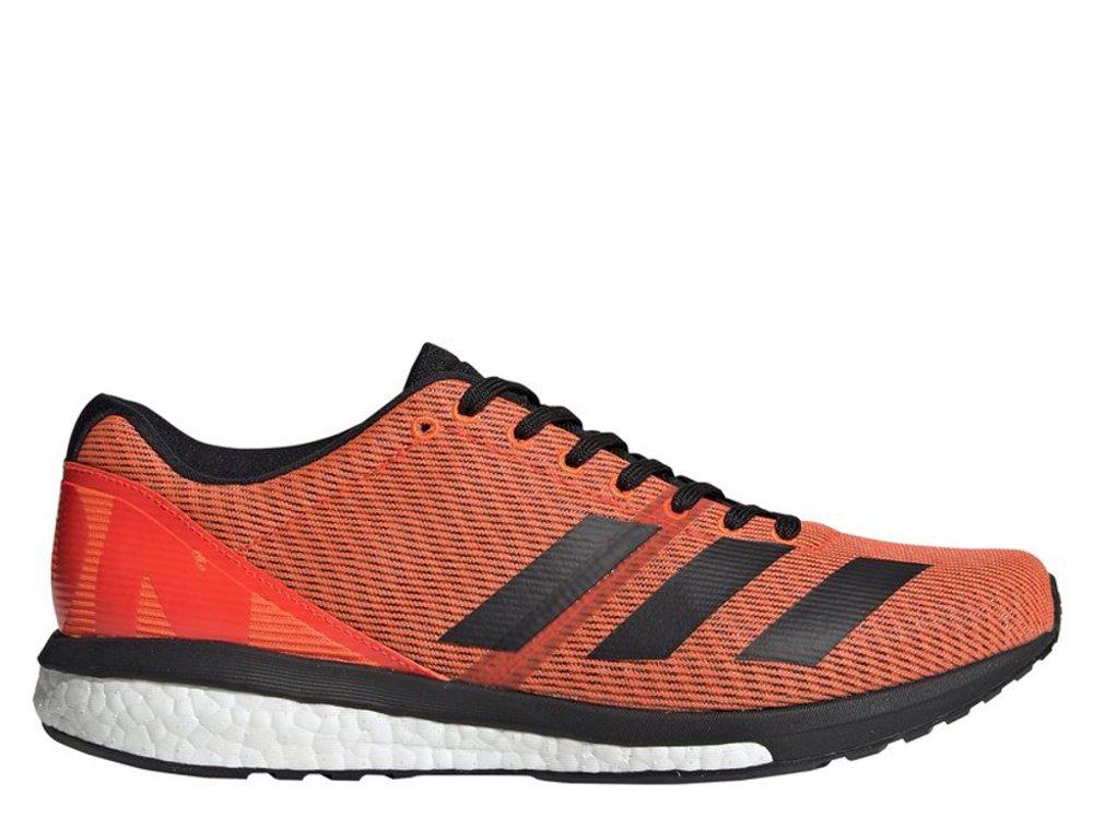 adidas Adizero Boston 8 M Czarno Pomarańczowe