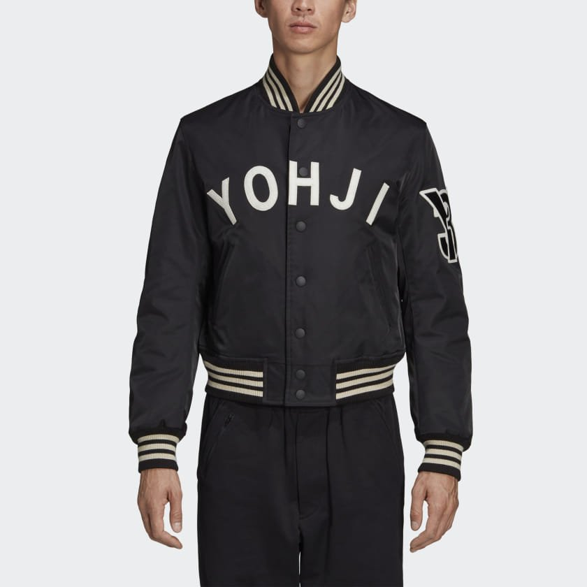 adidas Y 3 Yohji Letters Bomber Jacket (FJ0321)