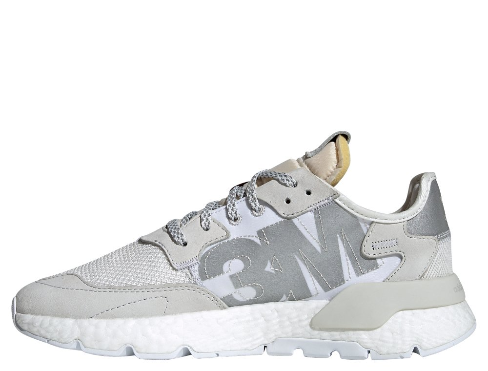 adidas nite jogger męskie białe (ee5855)
