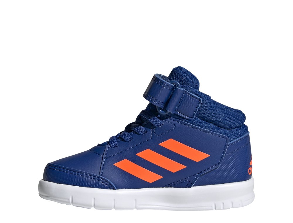adidas AltaSport Mid EL I niebiesko pomarańczowe