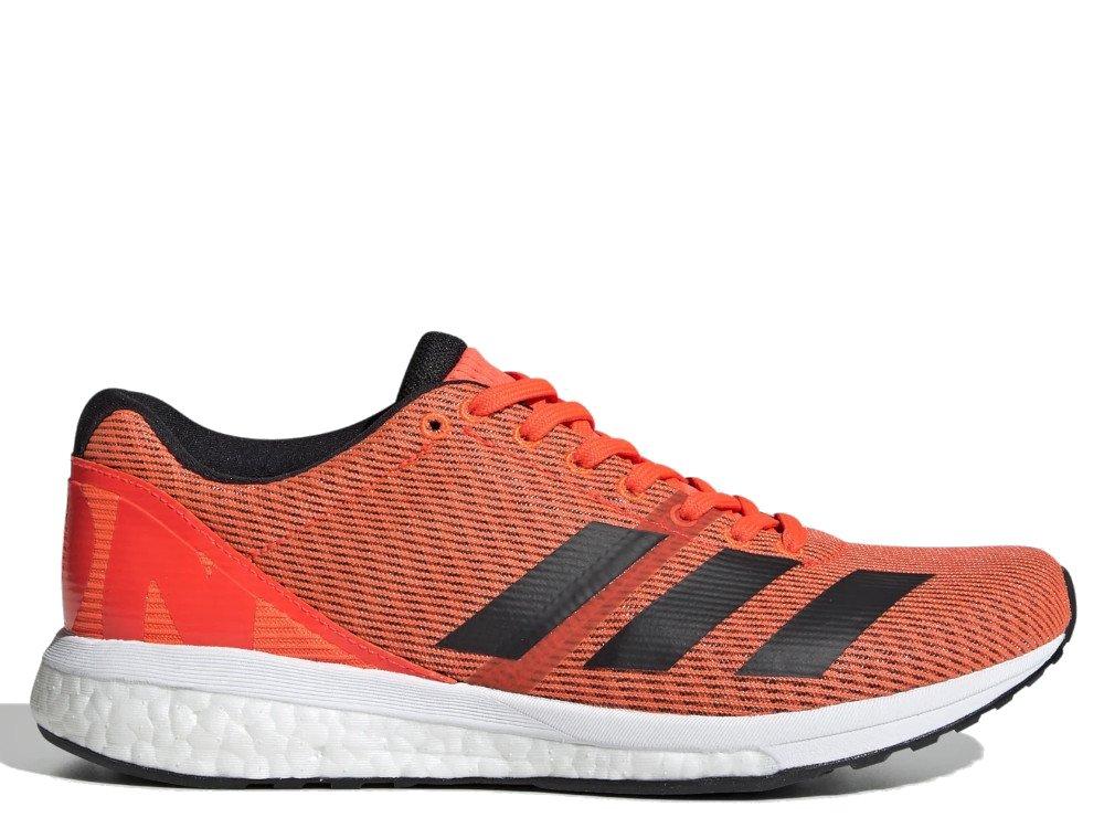 adidas adizero boston 8 w czerwono-pomarańczowe