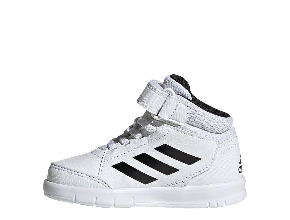 adidas AltaSport Mid EL I biało-czarne