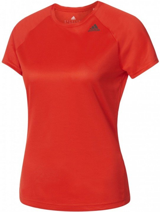 adidas d2m tee short sleeve red