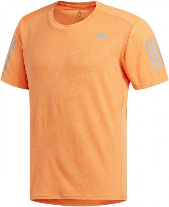 adidas response tee orange