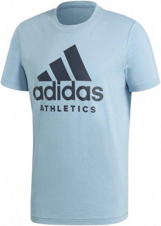 adidas sid branded tee blue