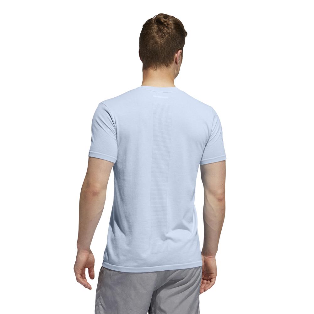 adidas 25/7 tee m niebieska
