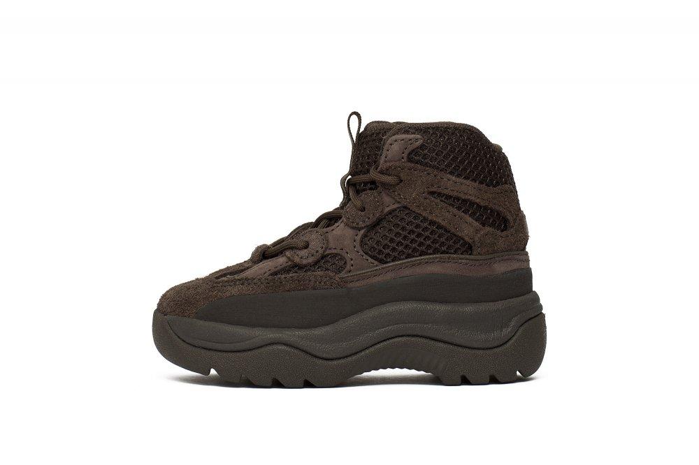 """yeezy desert boot """"oil"""" infants (eg6684)"""