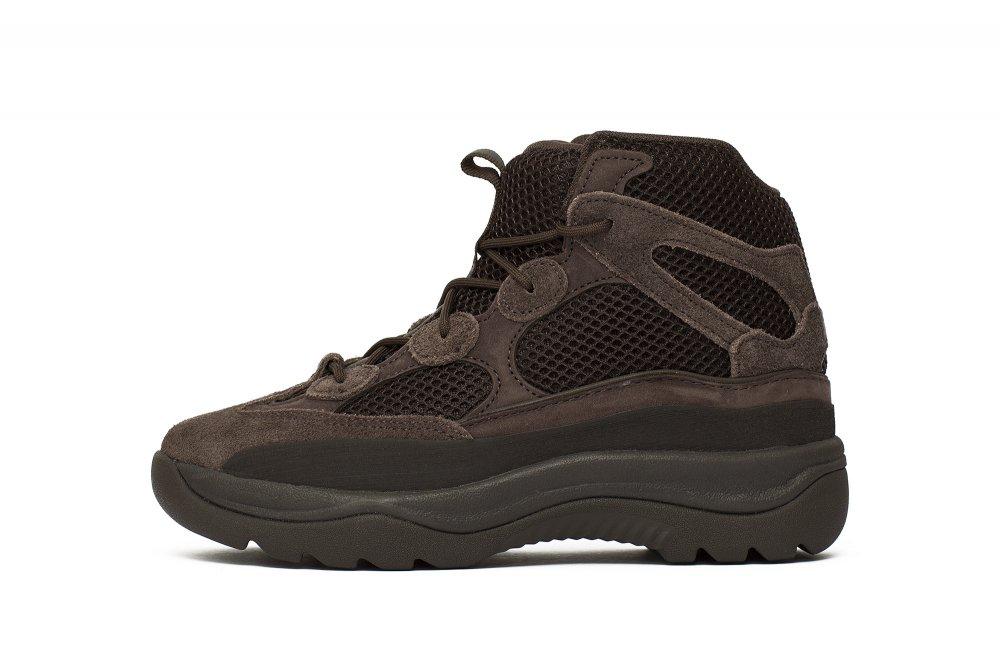 """adidas yeezy desert boot """"oil"""" kids (eg6489)"""