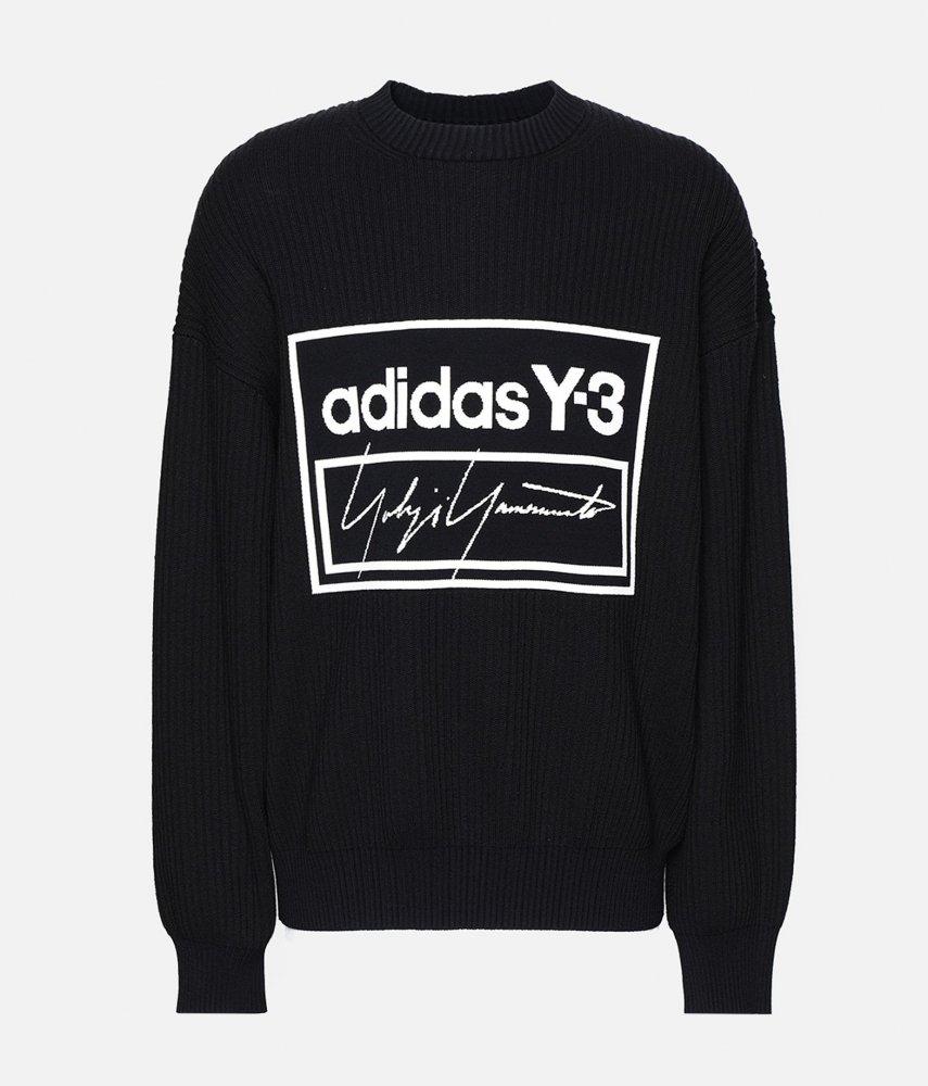 adidas-y-3-tech-knit-crew-sweatshirt-(fj0374) by adidas-y-3