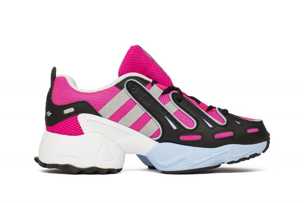 Adidas Originals – EQT Gazelle – Granatowo różowe buty sportowe