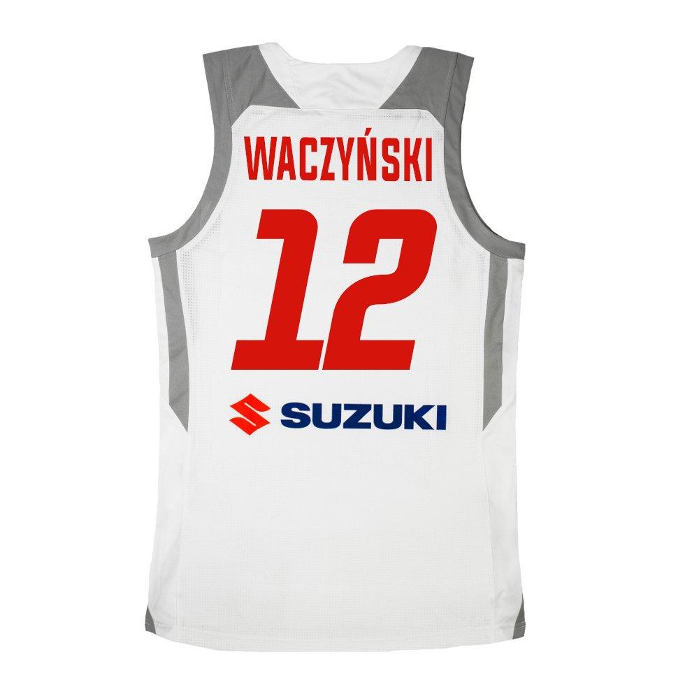 koszulka adidas reprezentant polski adam waczyńskiego #12 (cv9109-pol-white-wac)