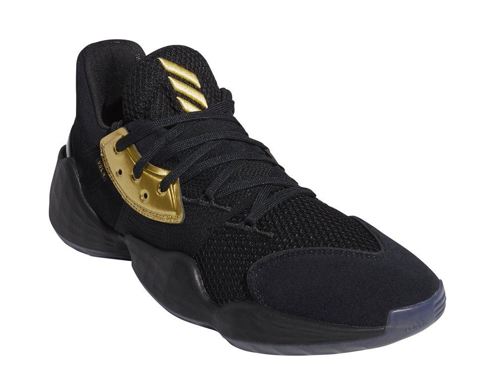 adidas harden vol.4 core black gold metallic