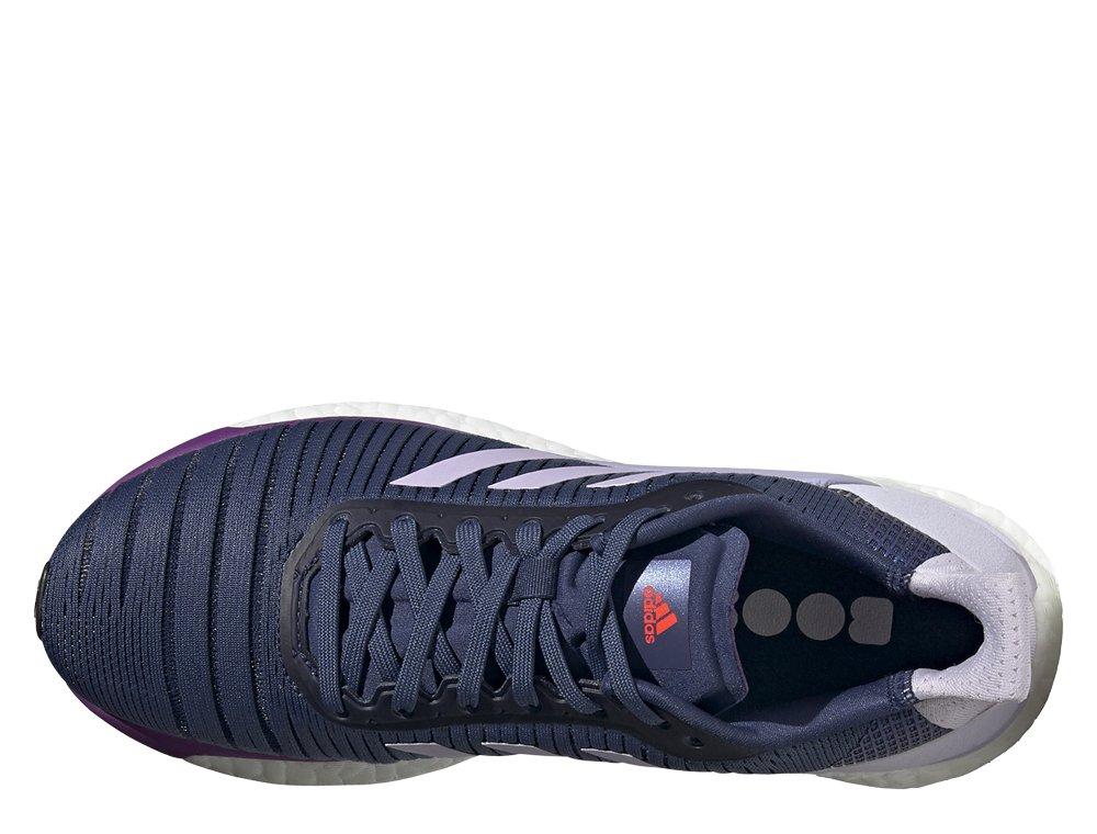 adidas solar glide 19  w granatowo-fioletowe
