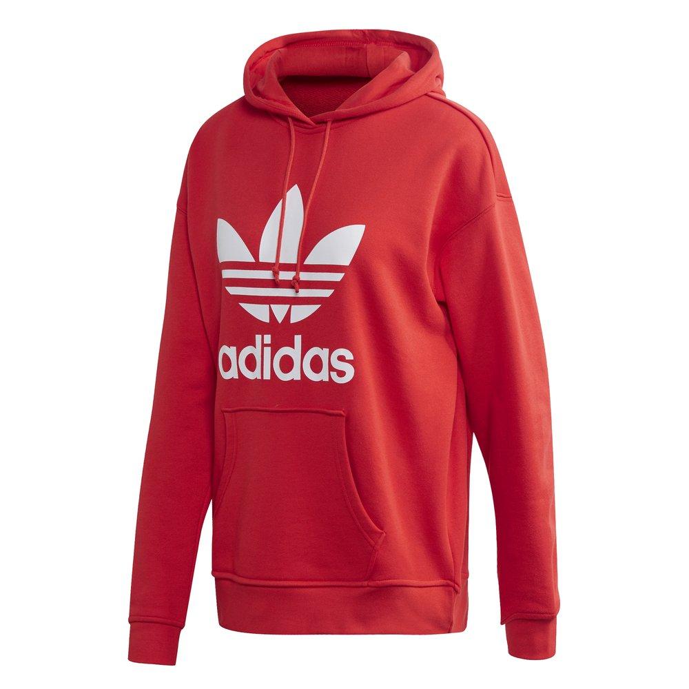adidas Originals adicolour – Czerwona bluza z kapturem
