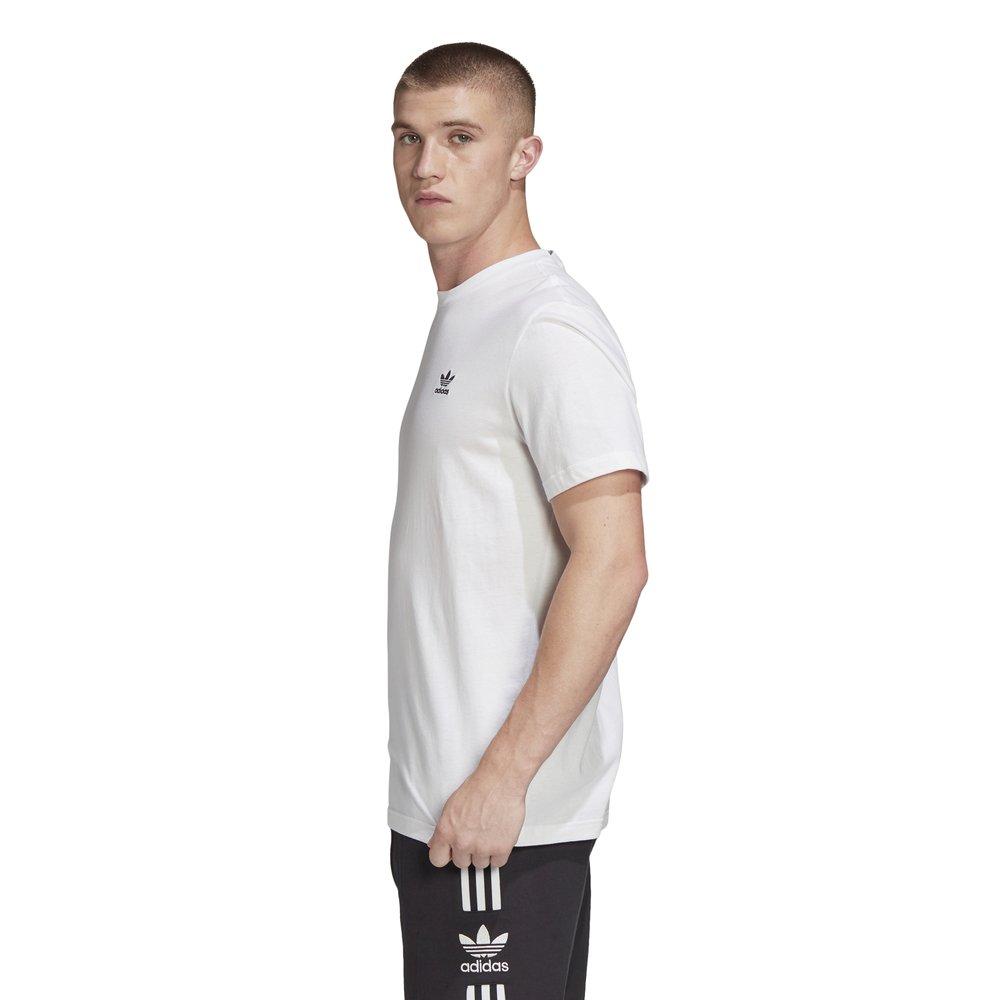 adidas trefoil essentials tee męska biała