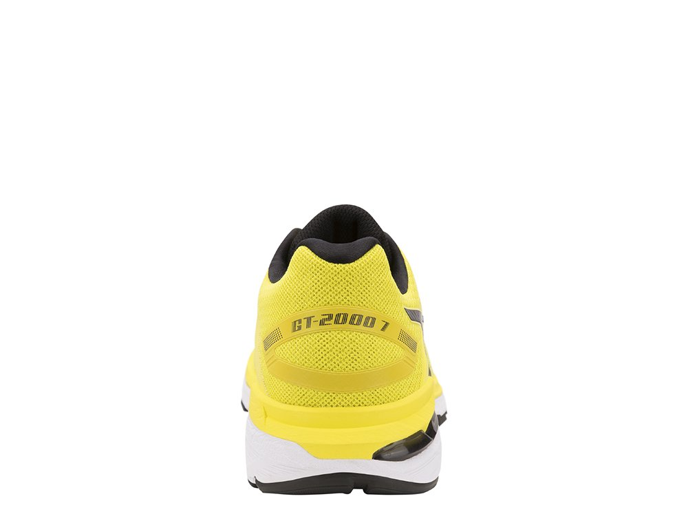 asics gt-2000 7 m czarno-Żółte