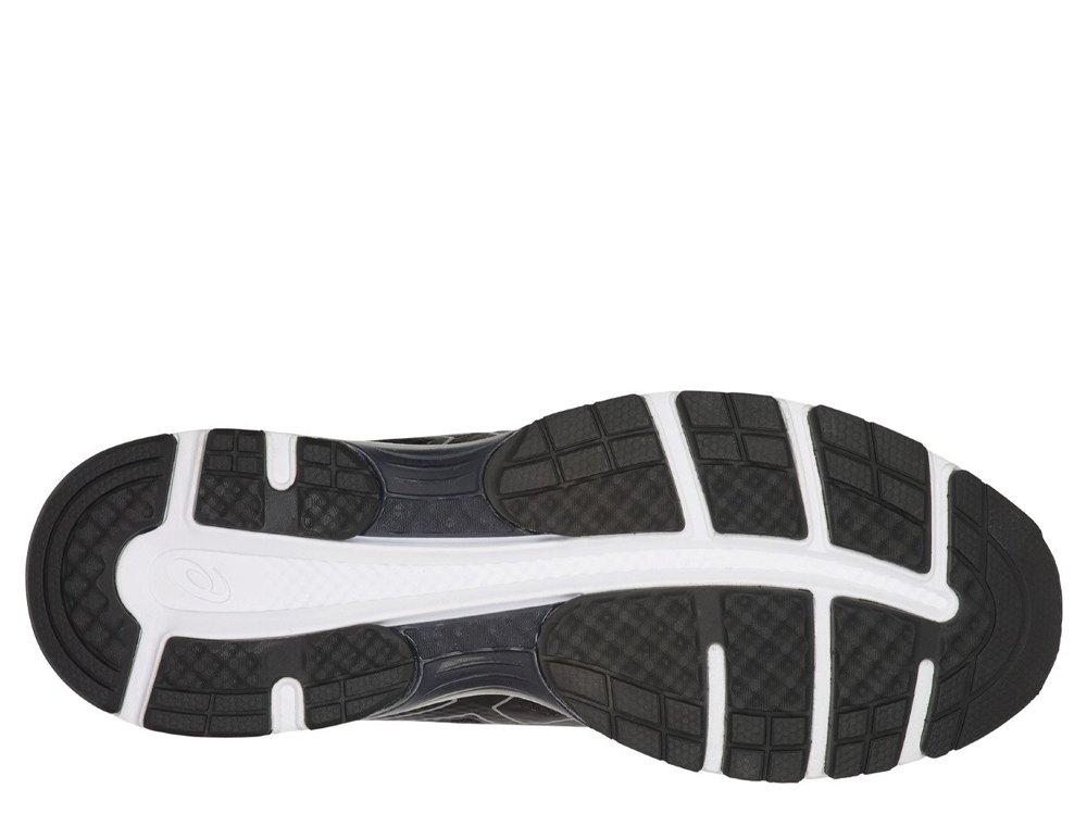 asics gel-pulse 10 m biało-czarne