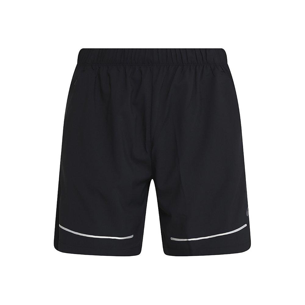 asics lite-show 7 inch short m czarne