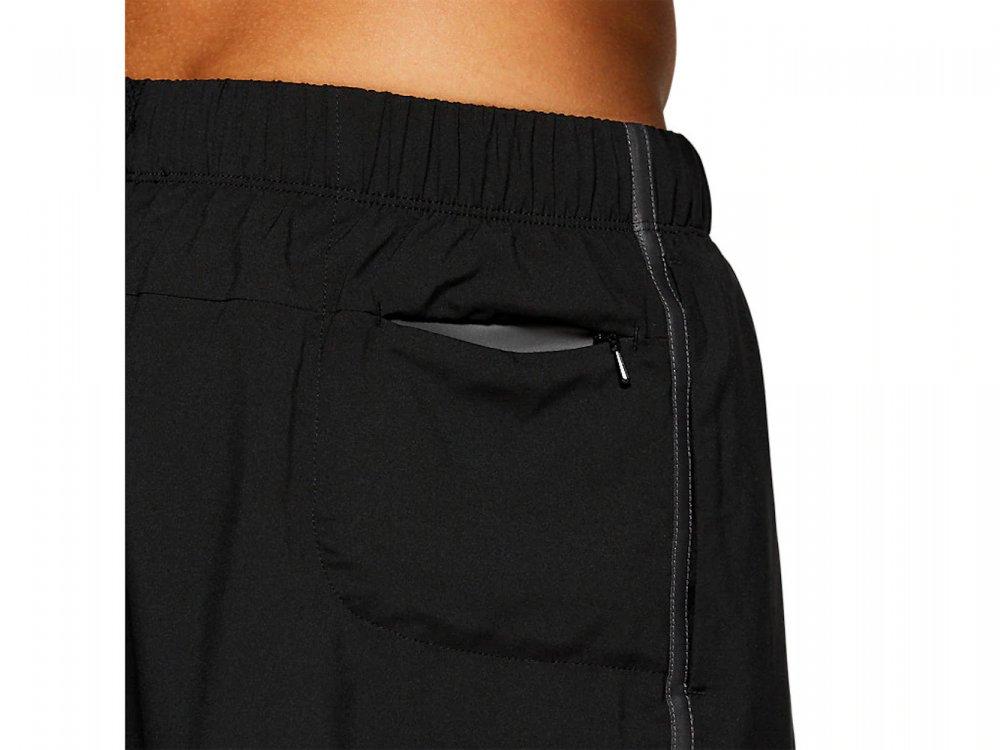 asics 7in short m czarne