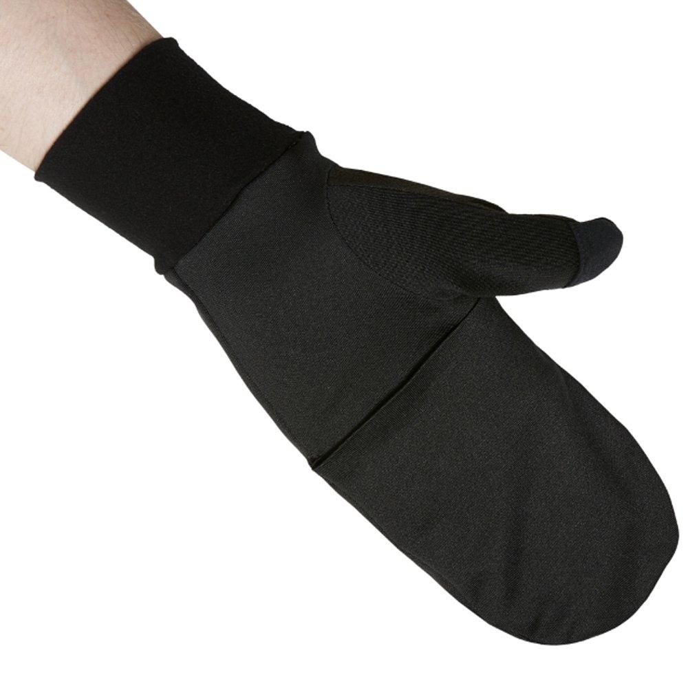 asics performance mitten performance black
