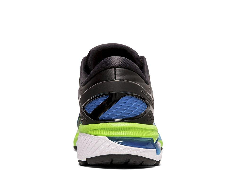 buty asics gel-kayano 26 m czarno-niebieskie