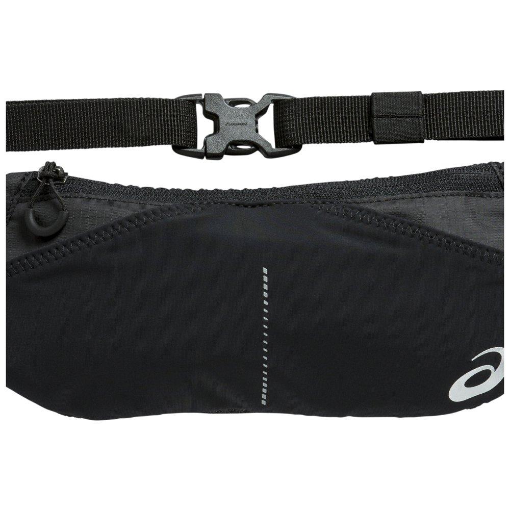 asics waist pouch performance czarny