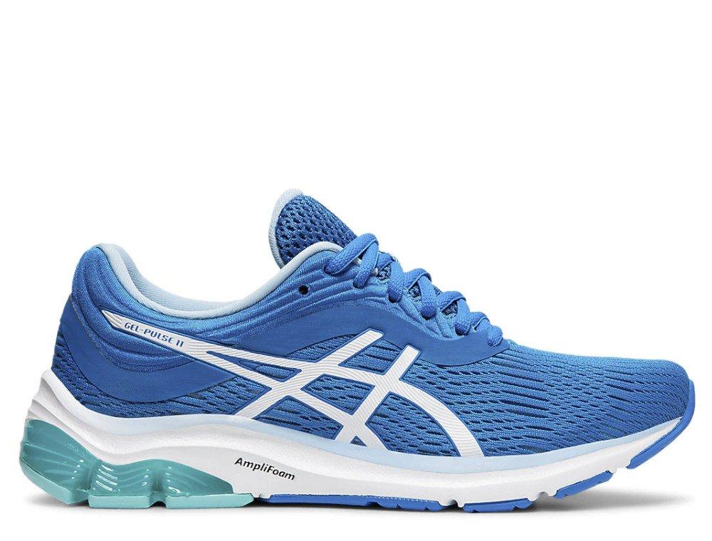 buty asics gel-pulse 11 niebiesko-białe