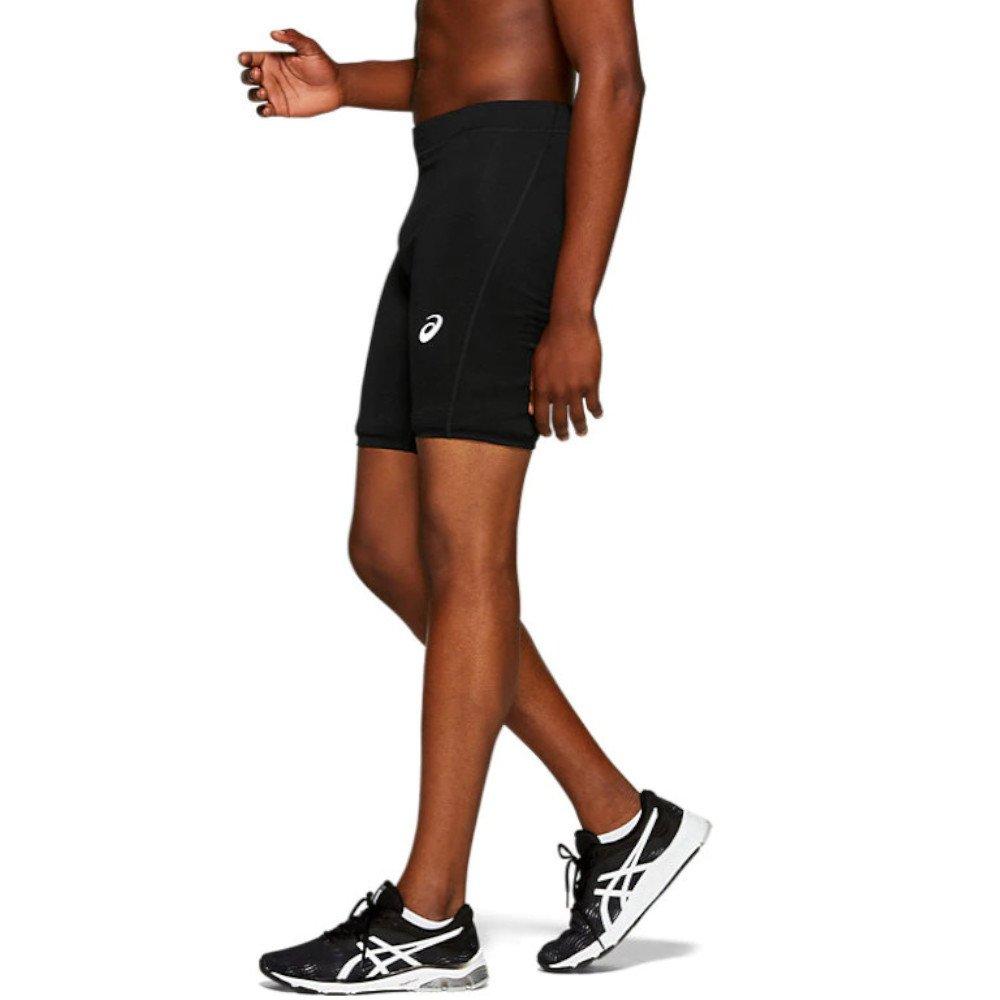 spodenki m asics silver 7in sprinter czarne