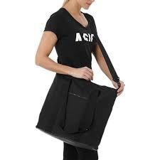 asics training essential handbag black
