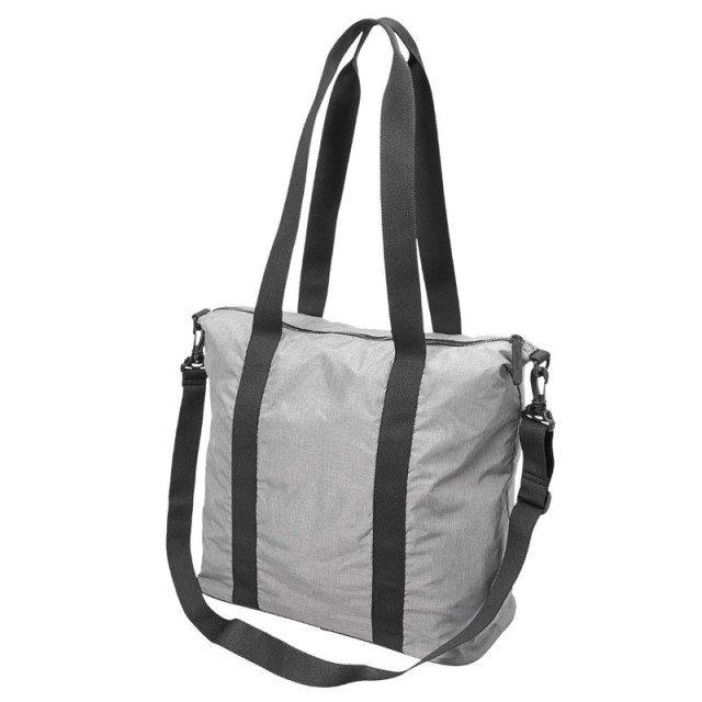 asics training essential handbag grey