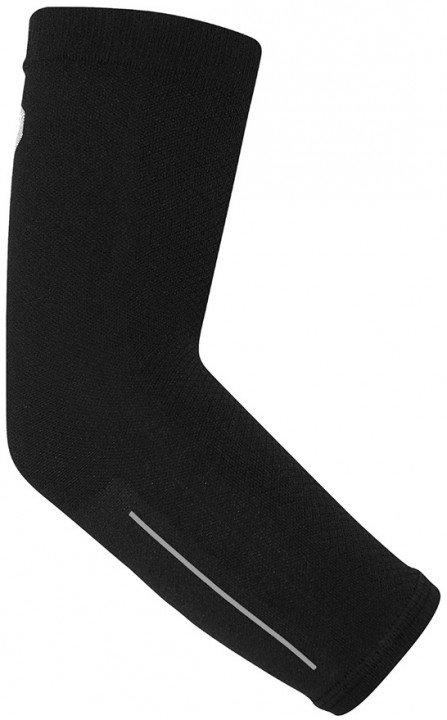 asics arm compression black