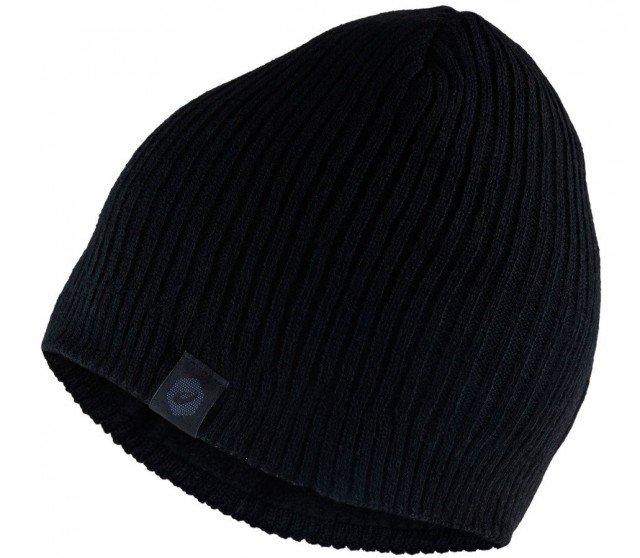 asics winter beanie performance black