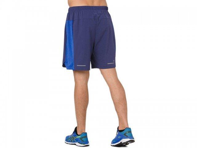 asics 2in1 7in short indigo blue