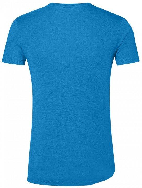 asics gpx short sleeve top race blue