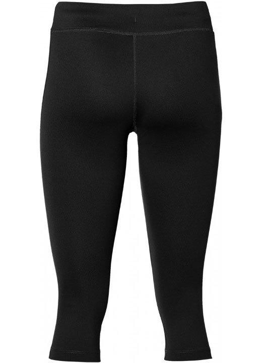 asics silver knee tight performance black