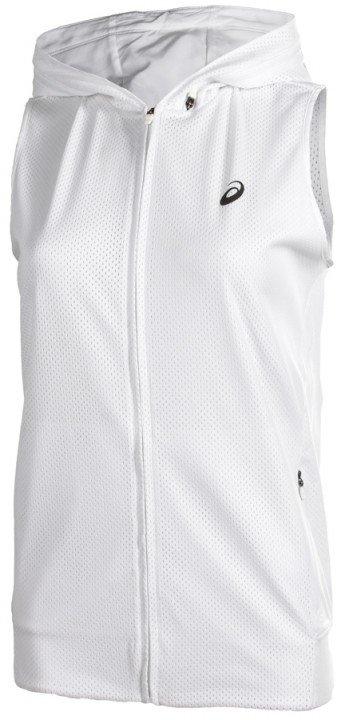 asics fuzex hoodie white