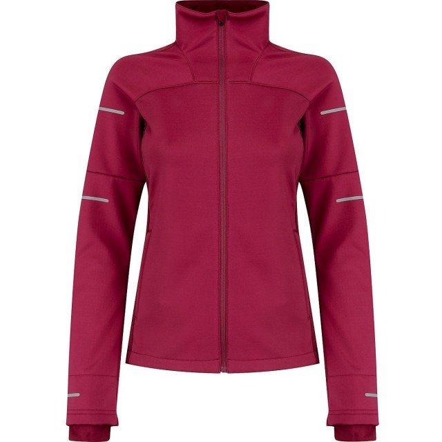 asics lite-show winter jacket cordovan