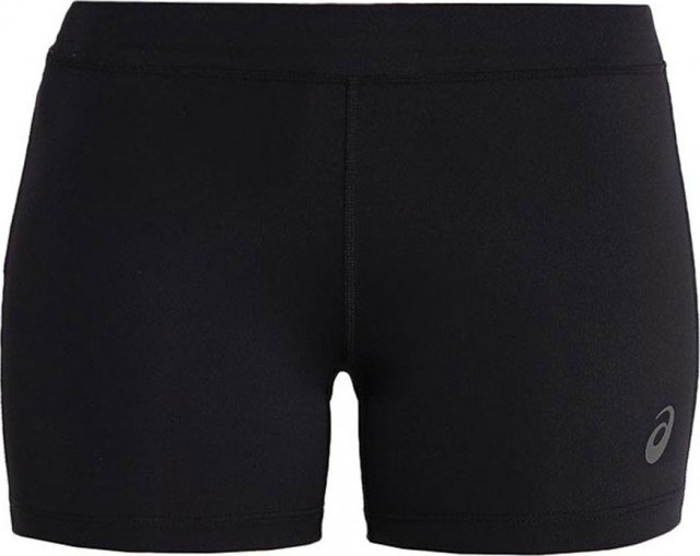 asics silver hot pant black