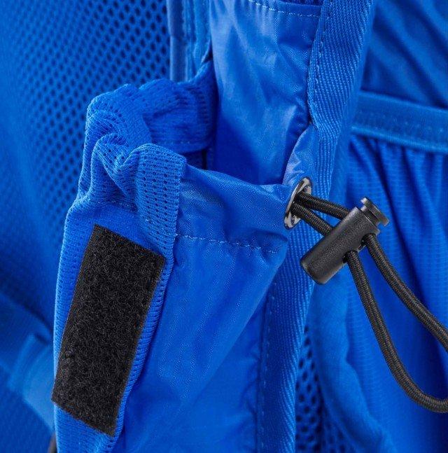asics lightweight running backpack blue