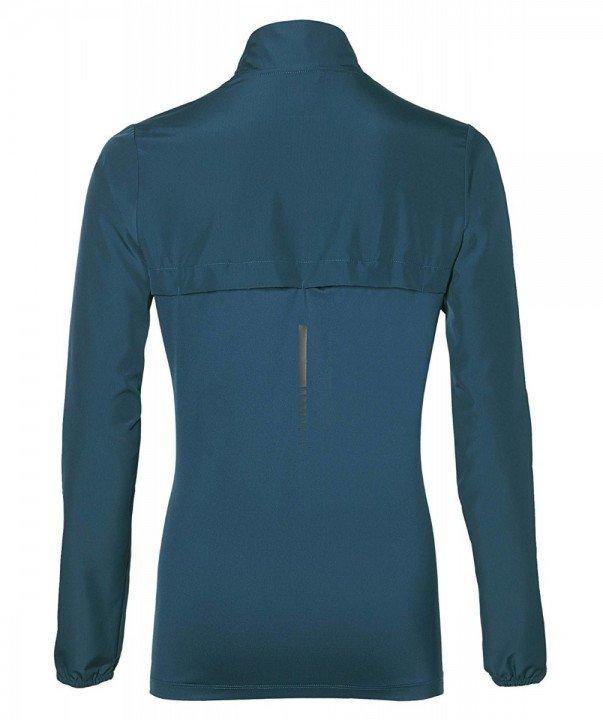 asics jacket dark blue