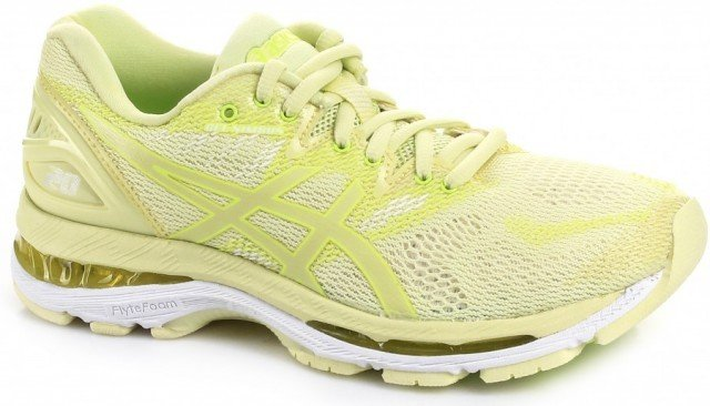 asics gel-nimbus 20 lime yellow