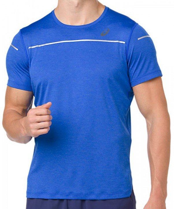 asics lite-show short sleeve top illusion blue