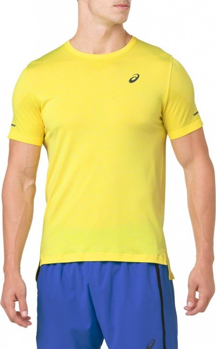 asics seamless ss lemon spark yellow