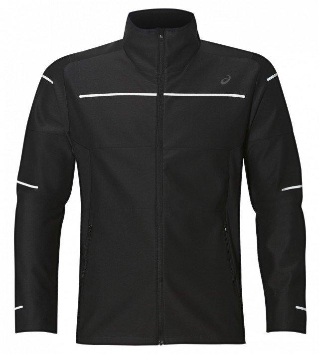 asics lite-show winter jacket black