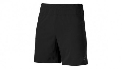 asics 7in short black