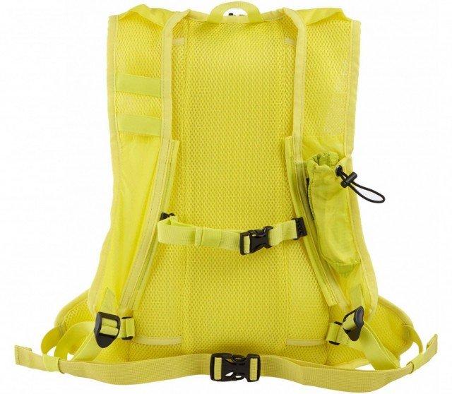 asics lightweight running backpack lemon