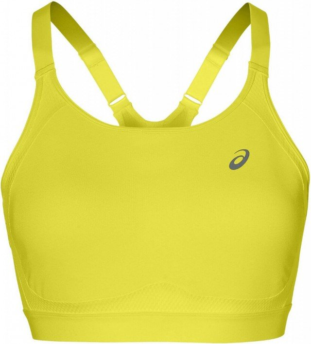 asics zero distraction bra lemon spark