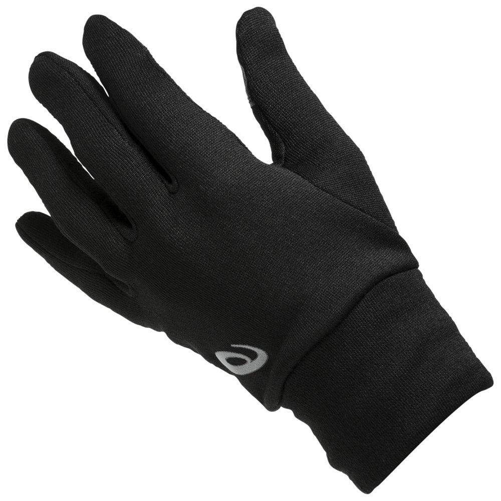 asics gloves czarne