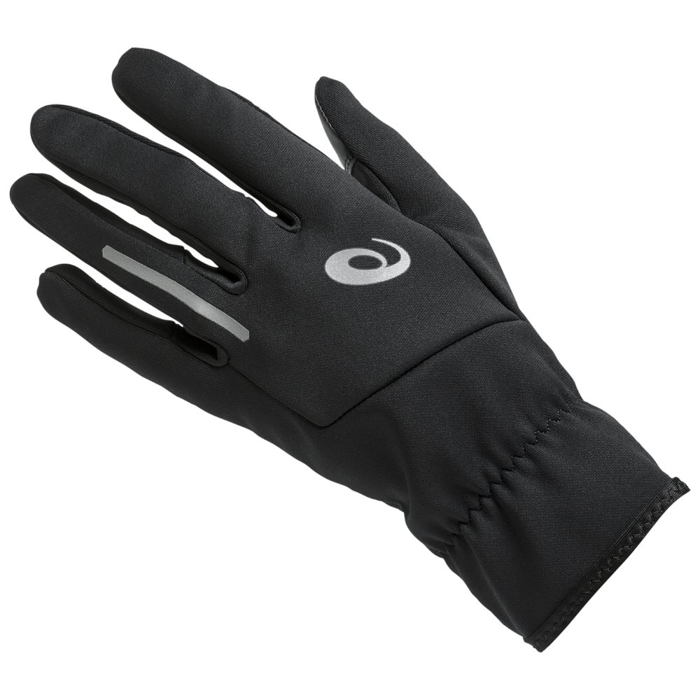 asics lite-show 2 gloves czarne